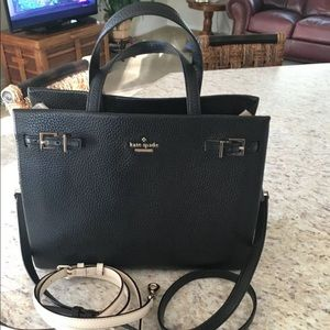 KATE SPADE Leather Shoulder, X BODY with Satchel